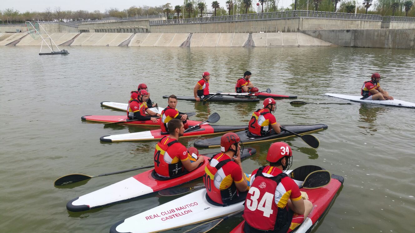 Selección española de Kayak Polo