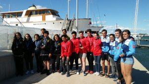 Liga Nacional Kayak Polo: tercer puesto en categoría Sub16 en Burriana (Castellón)