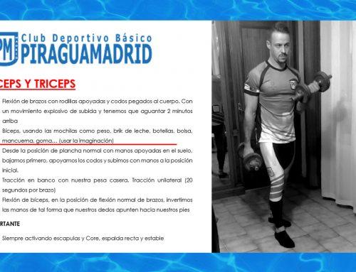 Ejercicios en Casa – Biceps y Triceps
